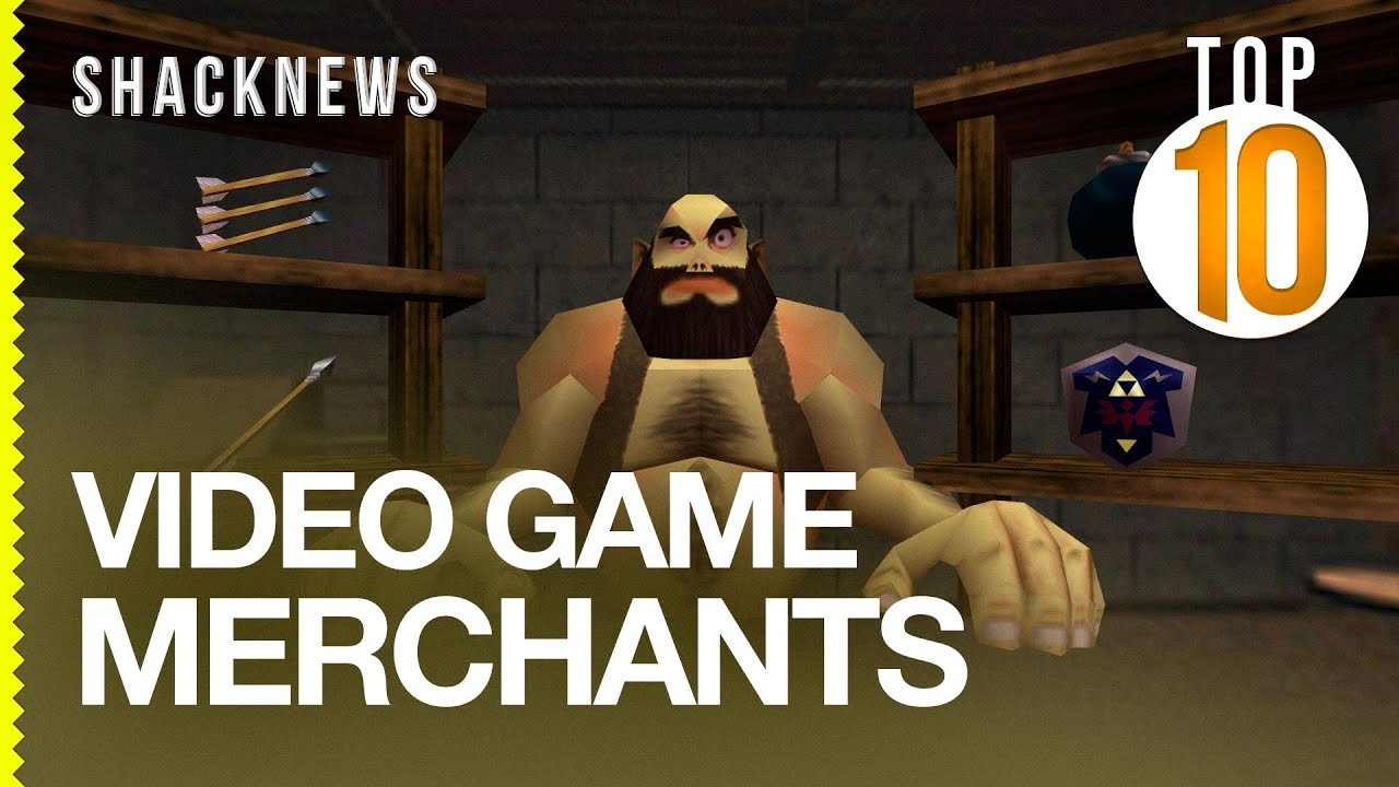 Top 10 Video Game Merchants