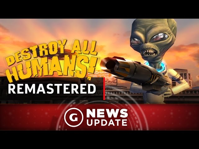 Destroy All Humans PS4 Remaster Available Now – GS News Update