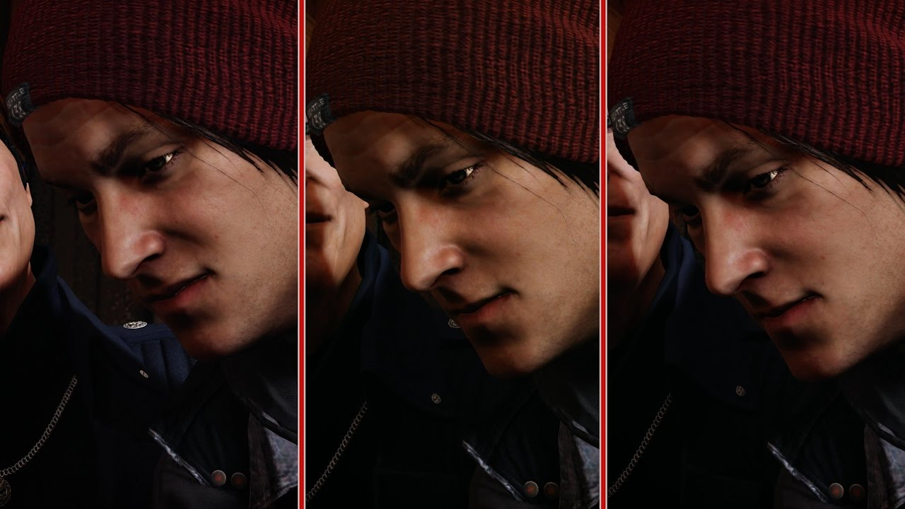 InFamous: Second Son Graphics Comparison – PS4 Pro vs. PS4