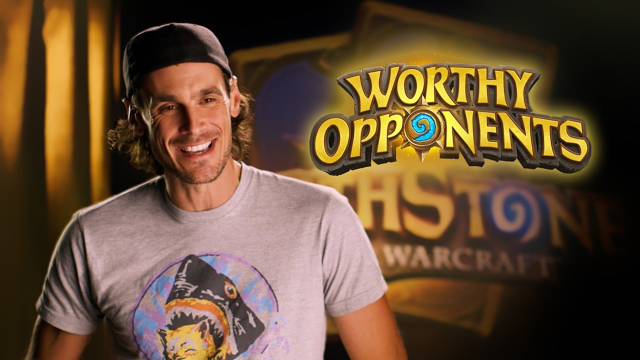Chris Kluwe and Blake Anderson Play Hearthstone (Worthy Opponents)