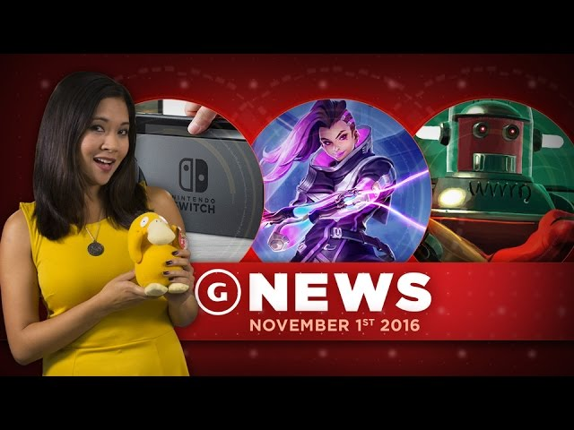 New Overwatch Character Leaked & Nintendo Switch Details – GS News