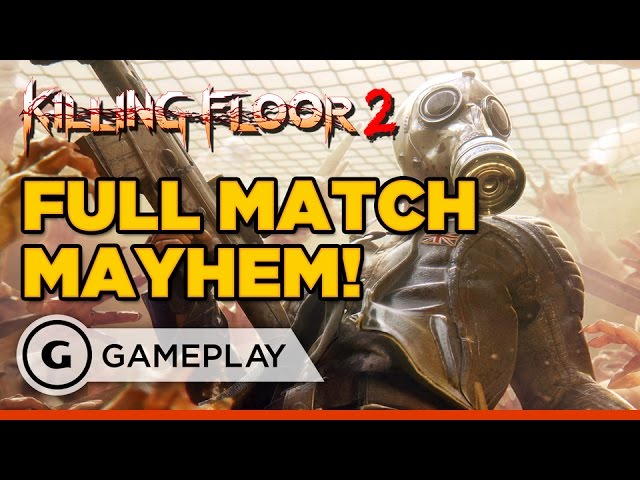 A Full Match of Killing Floor 2 on PS4