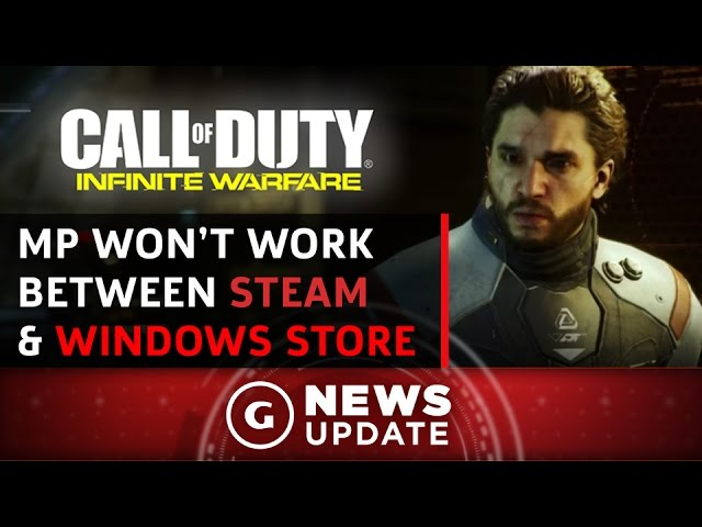 Windows Store's Call of Duty: Infinite Warfare Won't Connect With Steam Players – GS News Update