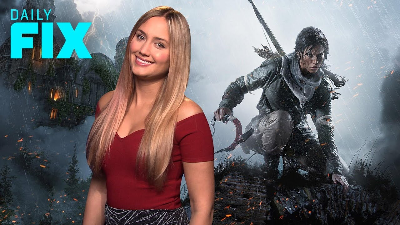Crystal Dynamics' Tomb Raider Showcase on PS4 Pro – IGN Daily Fix