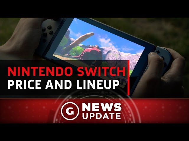 Nintendo Switch Price, Launch Lineup Teased – GS News Update