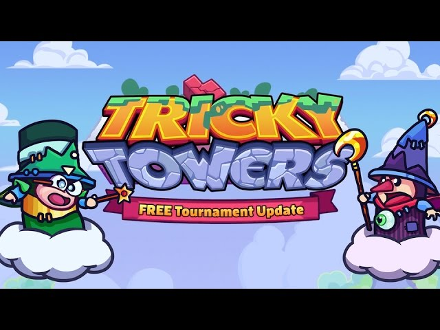 Tricky Towers – Free Tournament Mode Update Trailer