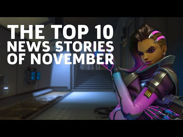 The Top 10 News Stories of November