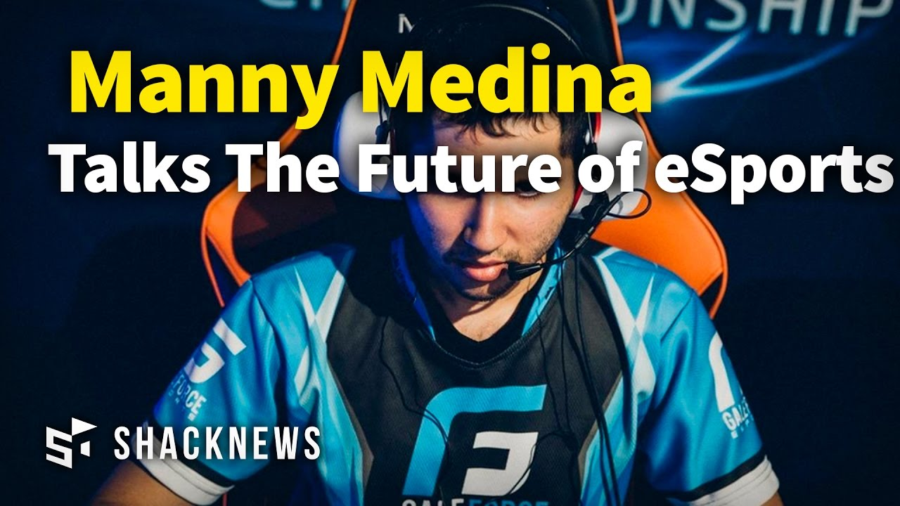 Manny Medina Talks The Future of eSports