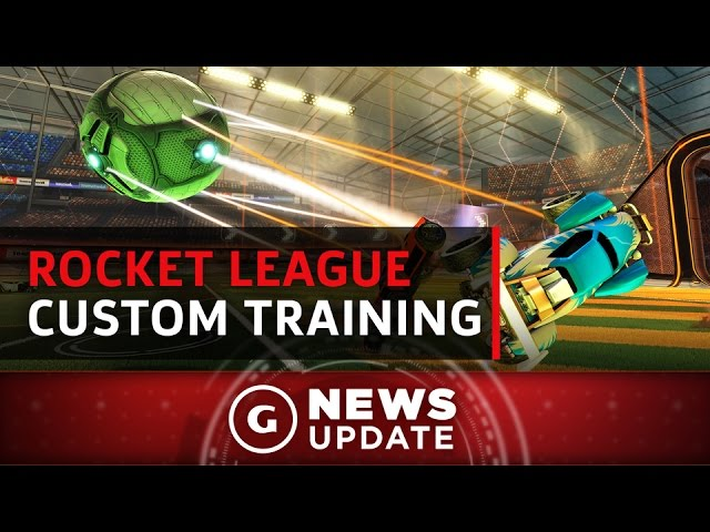 Rocket League Improves Your Skills With New Training Mode – GS News Update