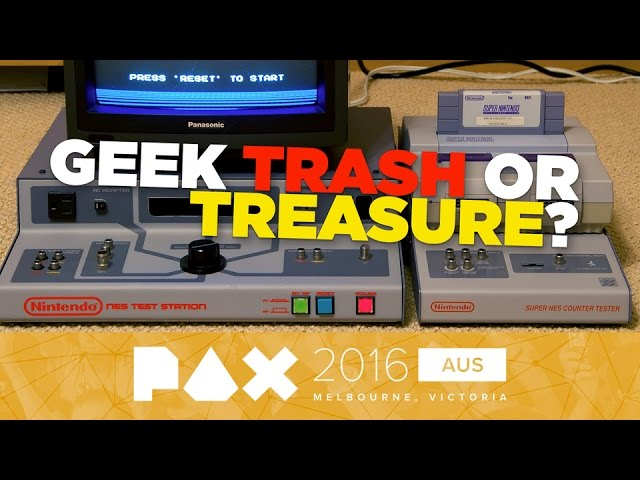 Geek Trash or Treasure? Finding Collectibles with Real Value – PAX Aus 2016