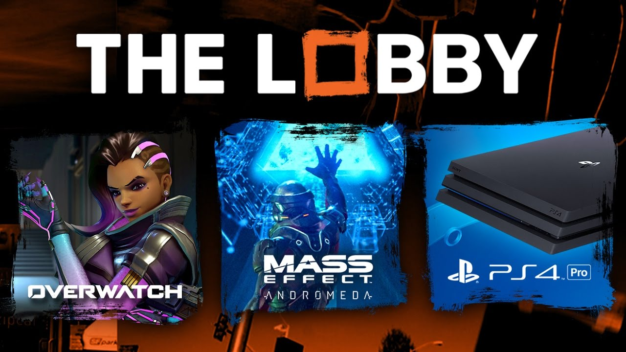 Overwatch Sombra, Mass Effect Andromeda,  PS4 Pro Review, CoD: Infinite Warfare,  Division DLC