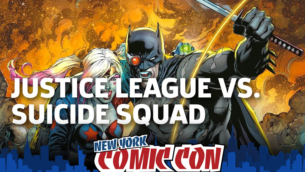 DC Rebirth: Justice League vs. Suicide Squad Preview with Jim Lee and Dan DiDio