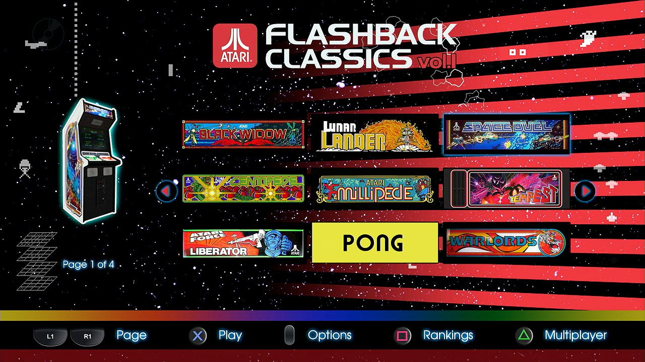 Atari Flashback Classics vol. 1 Quick Look