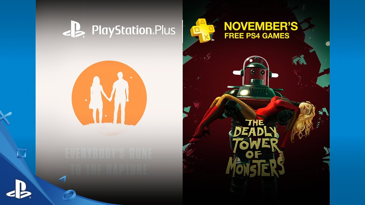 PlayStation Plus – Free PS4 Games Lineup November 2016