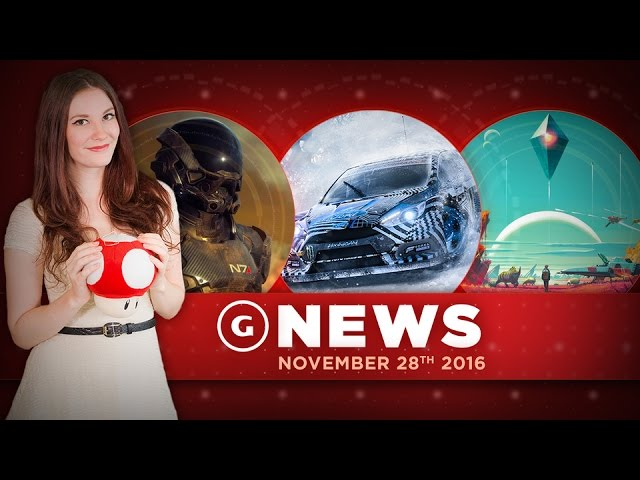 Mass Effect Andromeda Multiplayer Info & New No Man's Sky Vehicle! – GS Daily News