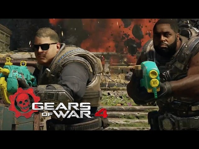 Gears of War 4 – Run the Jewels Air Drop