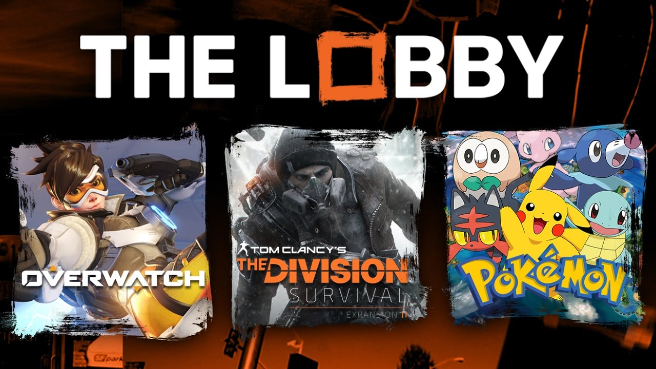 Overwatch 3v3, Division DLC, Favorite Pokémon Game, and Favorite Shooter This Year – The Lobby