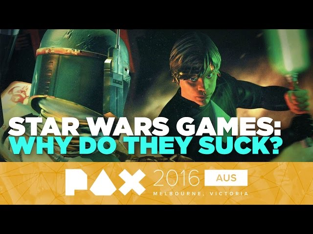 X-Wings and Tie-Ins: A History of Bad Star Wars Games – PAX Aus 2016