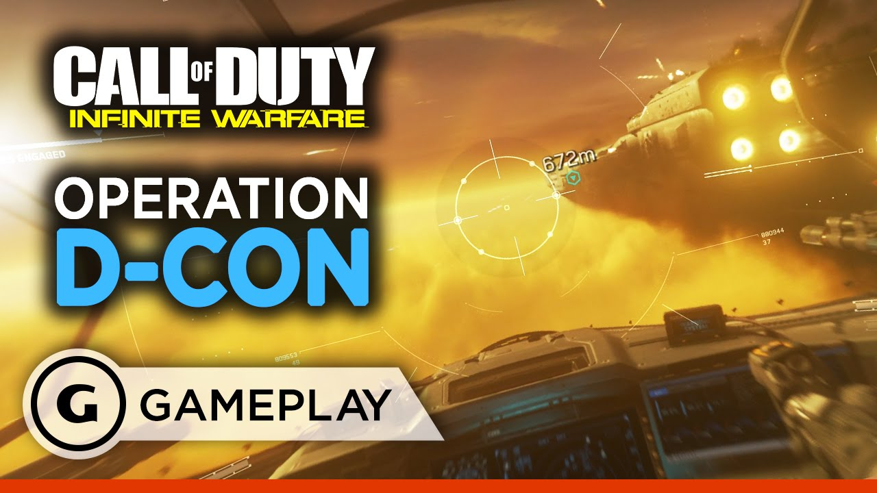 Ship Assault Side Mission Gameplay – Call of Duty: Infinite Warfare