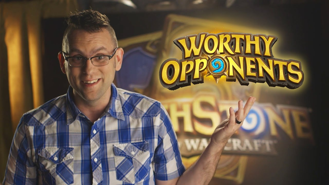 Chilled Chaos and Dan Telfer Play Hearthstone! (Worthy Opponents)