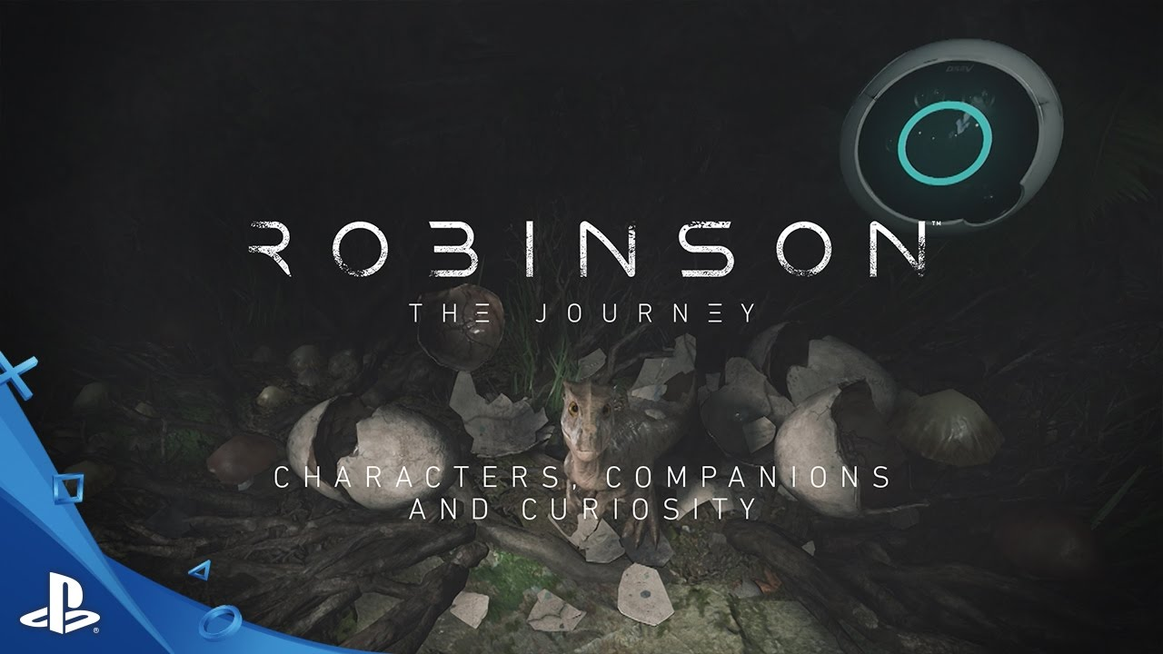 Robinson: The Journey – Dev Diary 3: Character, Companions and Curiosity | PS VR