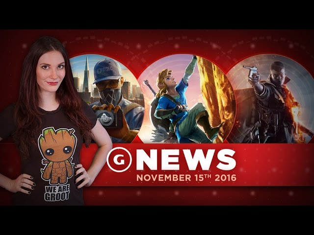 Watch Dogs 2 Multiplayer Issues & Huge Battlefield 1 Patch! – GS Daily News