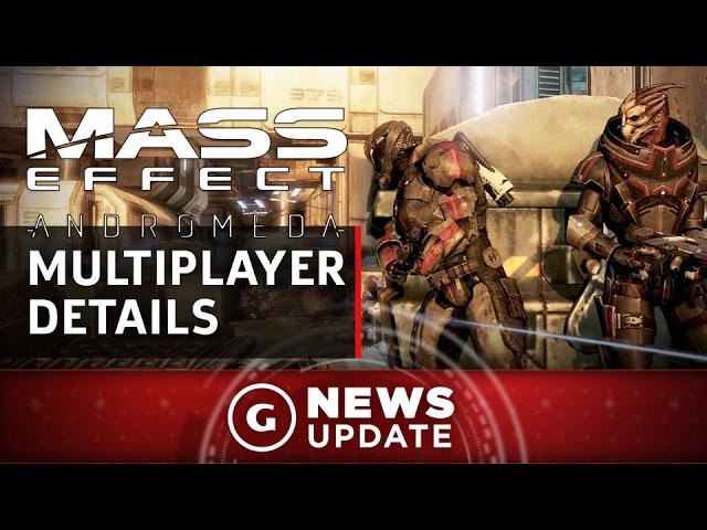 Mass Effect: Andromeda's Multiplayer Ties Into the Story – GS News Update