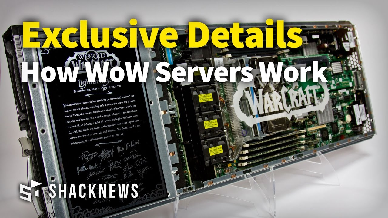 Exclusive Details on how WoW Servers Work