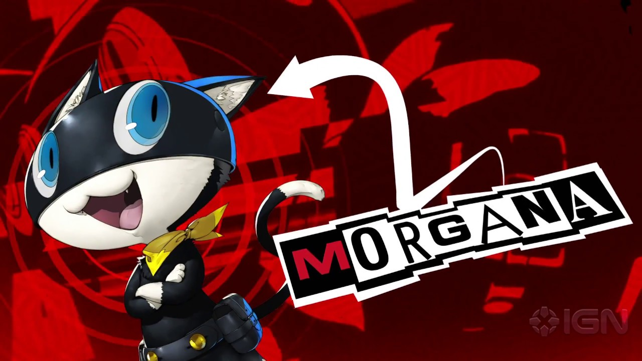 Persona 5 – Official Morgana Trailer (English)