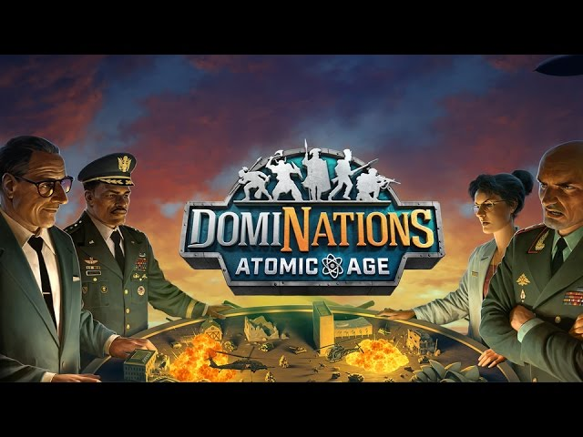 DomiNations – Atomic Age Update Trailer