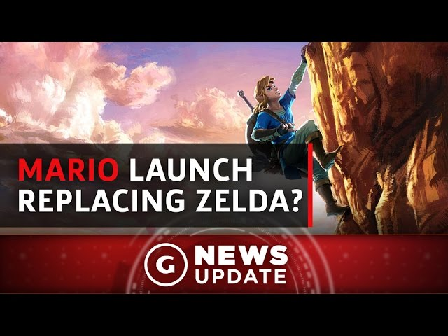Mario Could Replace Zelda in Nintendo Switch Launch Lineup – GS News Update