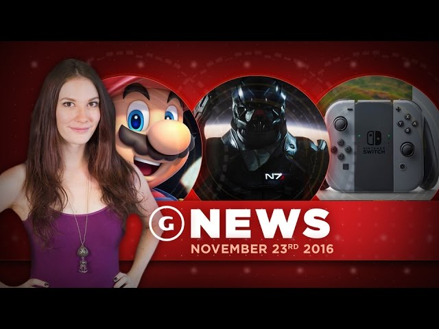 Nintendo Switch Info & Mass Effect Andromeda Deluxe Editions! – GS Daily News