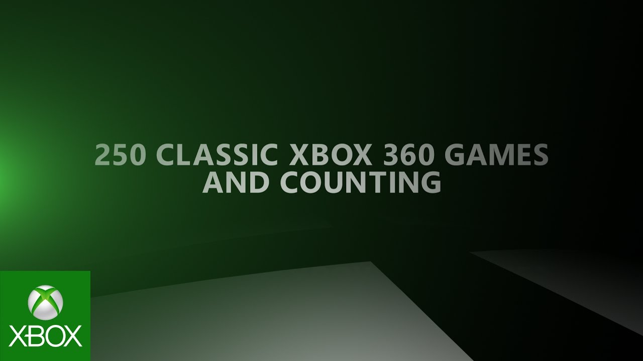 Xbox One  – The best place to play Xbox 360 games