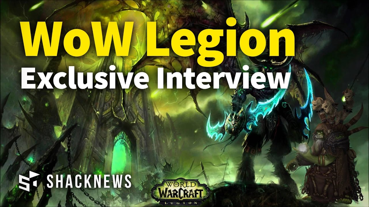 Exclusive World Of Warcraft Legion Interview