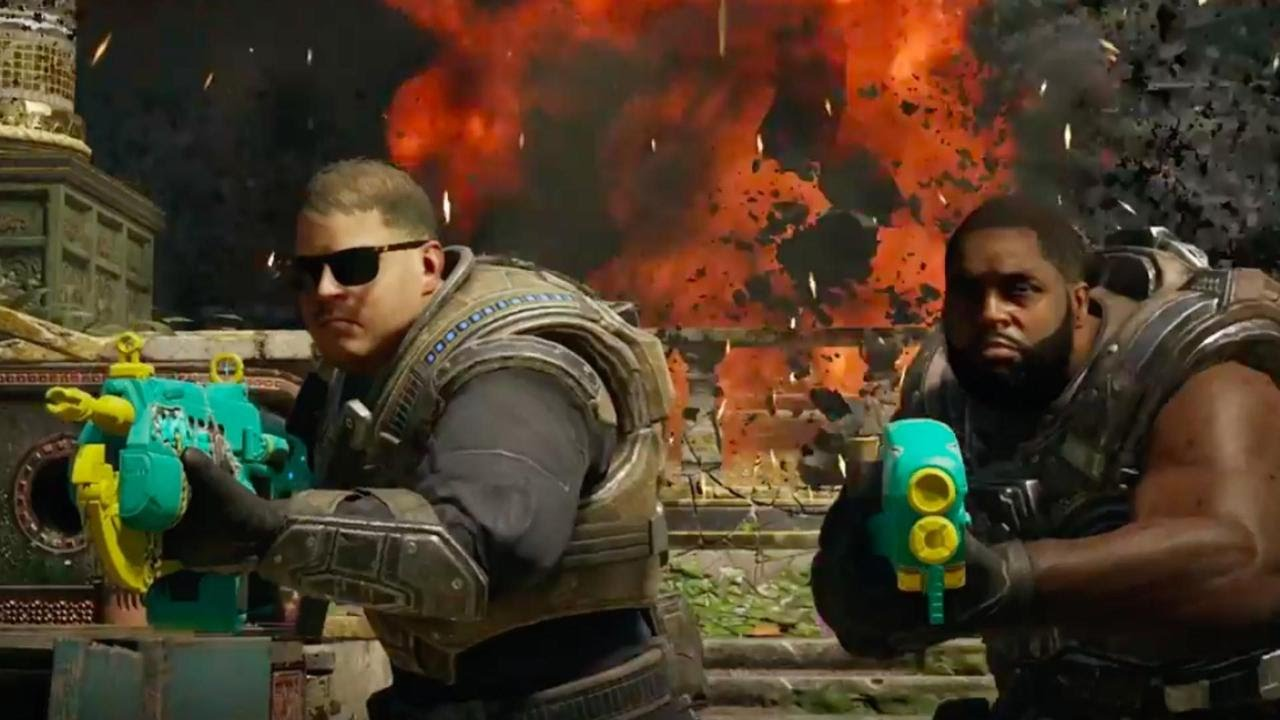 Gears of War 4 Official Run the Jewels Air Drop Trailer