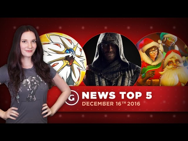 Pokémon Sun & Moon Event Flops, Overwatch Winter Update! – GS News Top 5