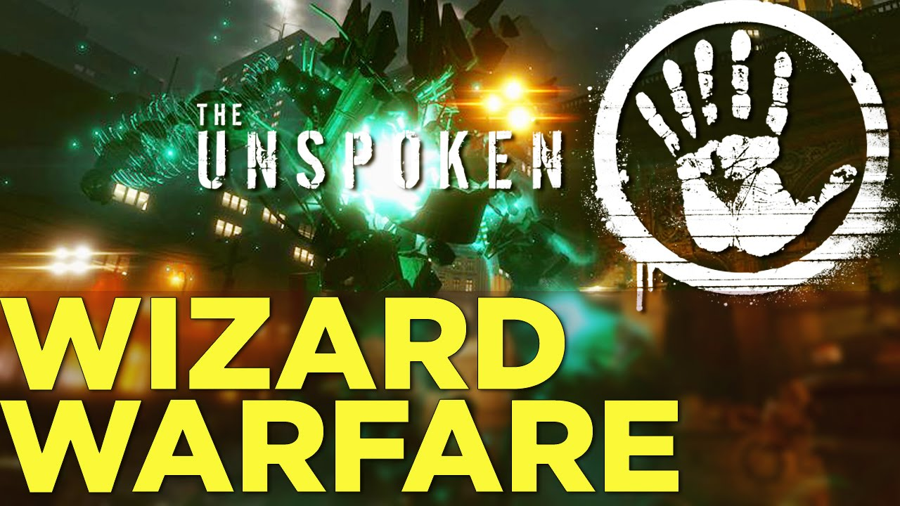 THE UNSPOKEN – Wizard Dueling Game With Oculus Rift Touch Controllers