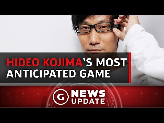 Hideo Kojima Reveals His Most Anticipated 2017 Game – GS News Update