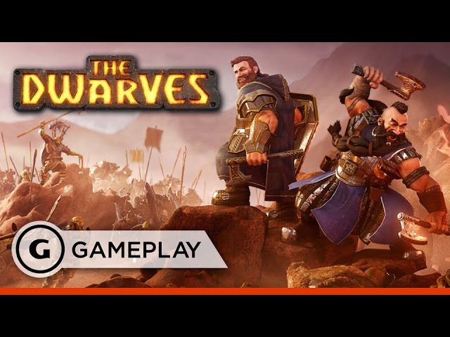 The Dwarves – 11 Minutes of Battle Gameplay