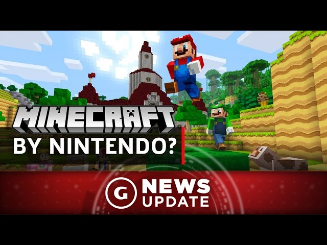 Mario Creator Miyamoto Says Nintendo Almost Made Minecraft – GS News Update