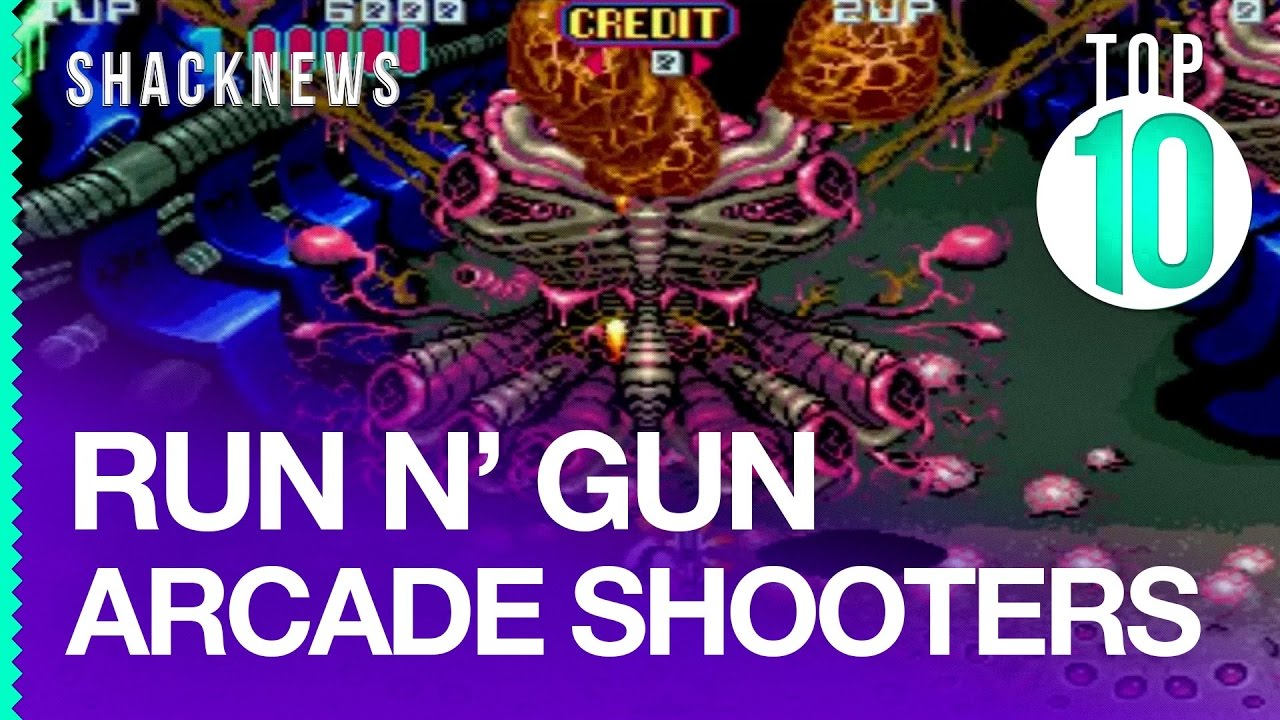 Top 10 Run N' Gun Arcade Shooters