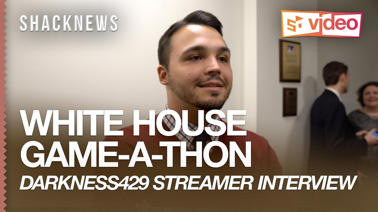 White House Game-A-Thon: @darkness429 Talks Professional Streaming and the Explosion of eSports