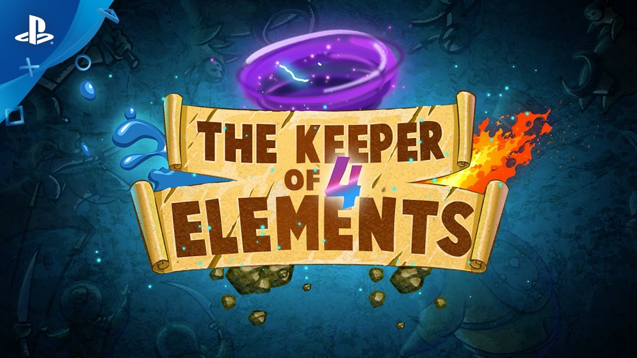 The Keeper Of 4 Elements – Gameplay Trailer | PS4, PS Vita