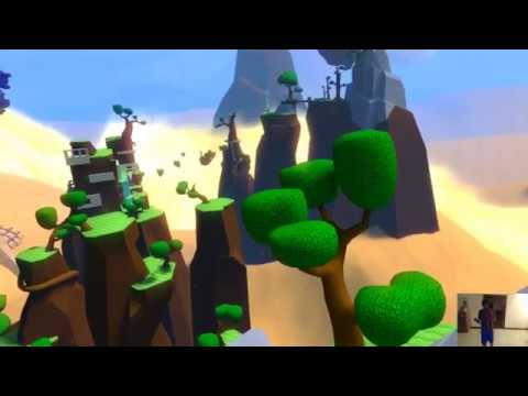 Windlands VR Gameplay on Oculus Rift with Touch Controllers