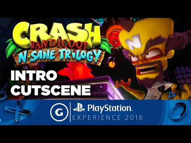 Crash Bandicoot N. Sane Trilogy – Introductory Cutscene