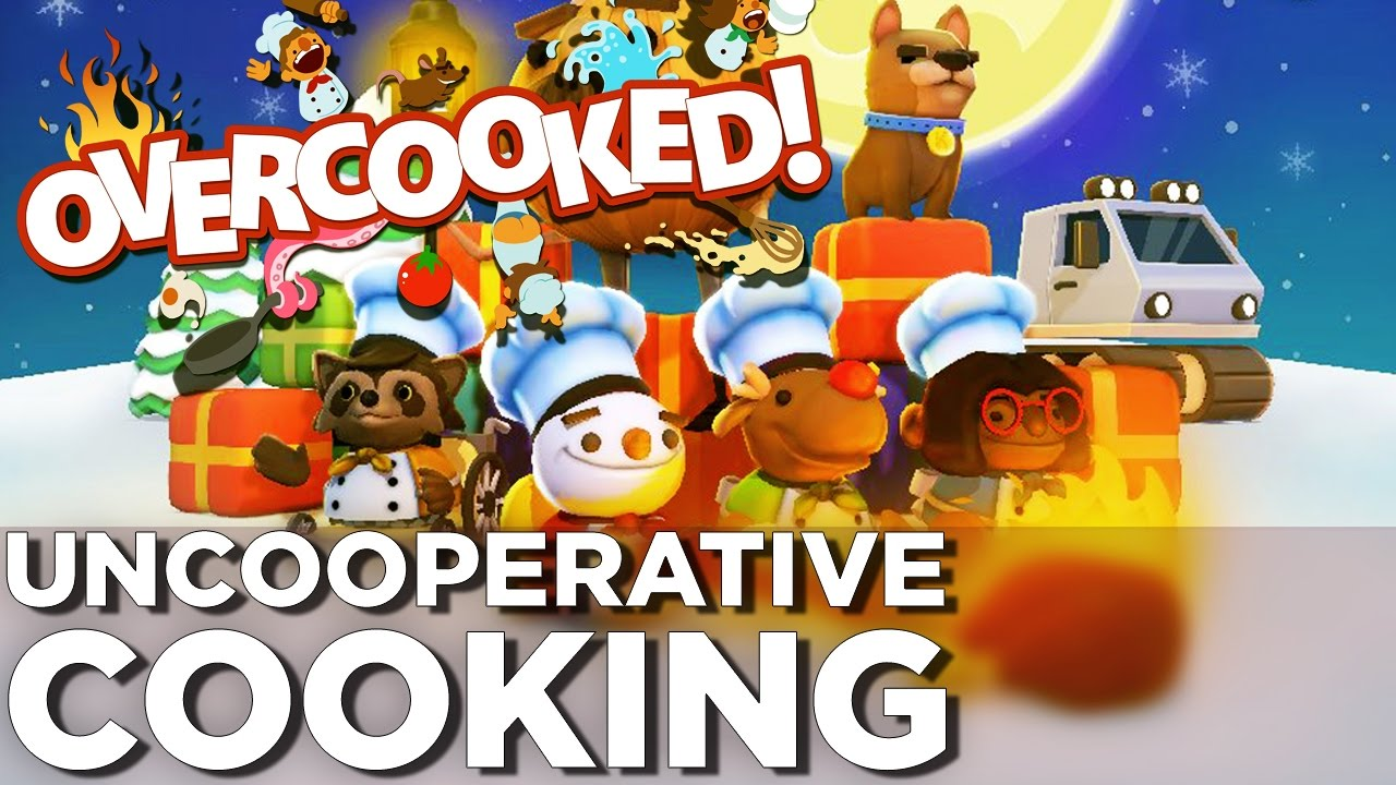 Cooking with FIRE – OVERCOOKED Festive Seasoning DLC Gameplay