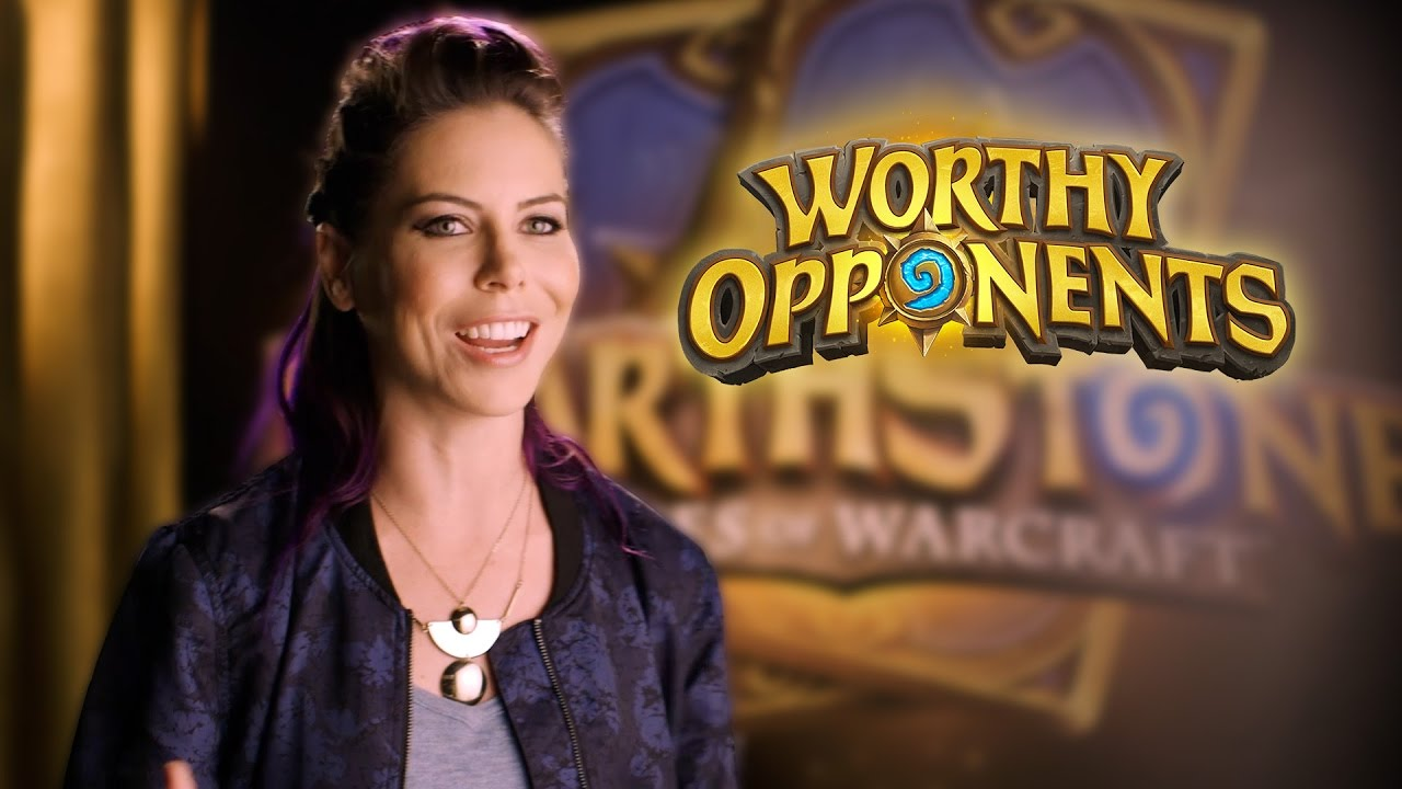 Michele Morrow and Tay Zonday Play Hearthstone! (Worthy Opponents)