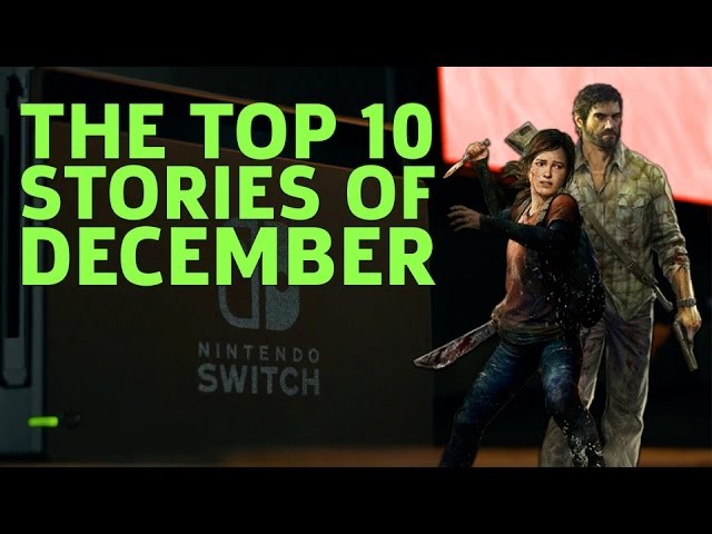 The Top 10 News Stories of December