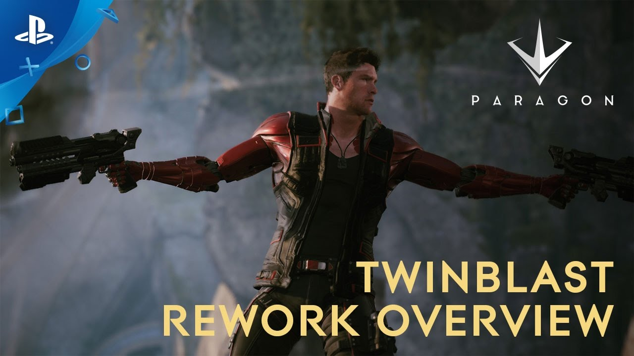 Paragon – Twinblast Rework Overview Trailer | PS4