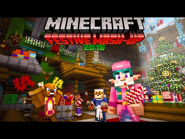 Minecraft – Festive Mash Up 2016 Trailer